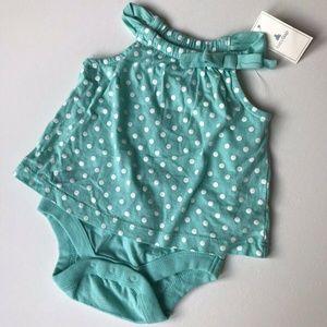 BabyGap Polka Dot Bodysuit Dress 0 - 3 Months NWT